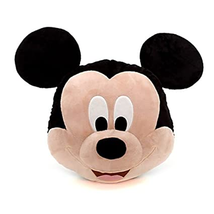 Amazon.com: Disney Mickey Mouse 46 cm Cojín enorme cara ...