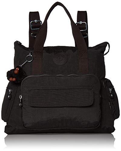 Kipling Alvy 2-in-1 Convertible Tote Backpack, True Black