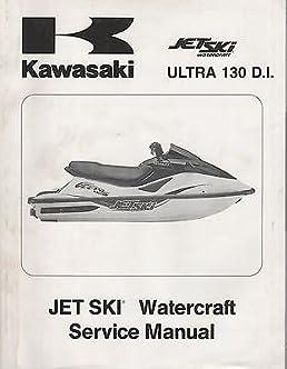2001 kawasaki personal watercraft ultra 130 d i service manual 707 rh amazon com Sea-Doo Personal Watercraft Personal Watercraft Boat
