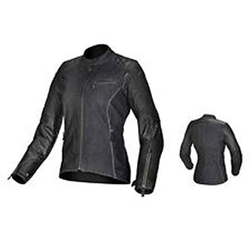 Alpinestars Renee Women's Textile/Leather Riding Jacket (Black, Size 38)