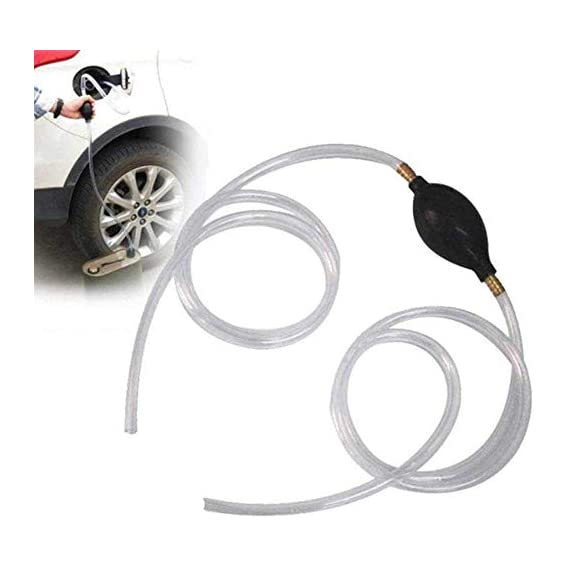 Toriox Manual Hand Pump Suction Pump Oil Water Petrol Diesel Fuel Liquid Transfer Fuel Liquid Transfer Pump Pipe for Car
