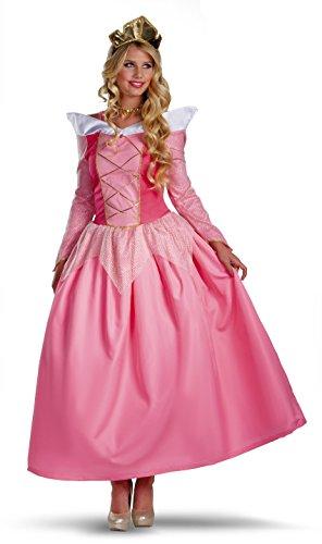 Adult Sleeping Beauty Costumes (Aurora Prestige Adult Costume - Large)