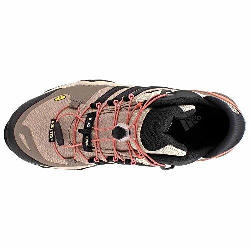 Adidas Sport Performance Women's Terrex Fast R Mid GTX W Textile, Rubber Hiking Boots Grey