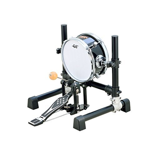 Goedrum GBD10 10 inch Electronic Kick or Bass Drum Color Black (Drum Pad Electronic Bass)