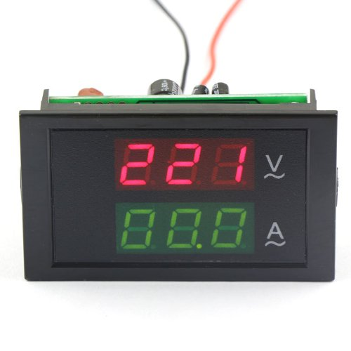 - DROK Three-Phase AC 200-450V/100A 380V Digital LED Current Voltage Volt Amp Meter Instrument to Measure Electricity+Sense