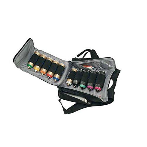 (SKUTR Spray Paint Backpack, Weather-Resistant Nylon with Magnet Design, Holds 12 Cans, Black (SR1-BK))