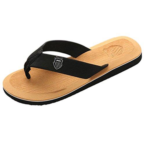 Enerhu Unisex Flip Flops Beach Slippers Casual Shoes Home Sandal Indoor Outdoor Quick Drying