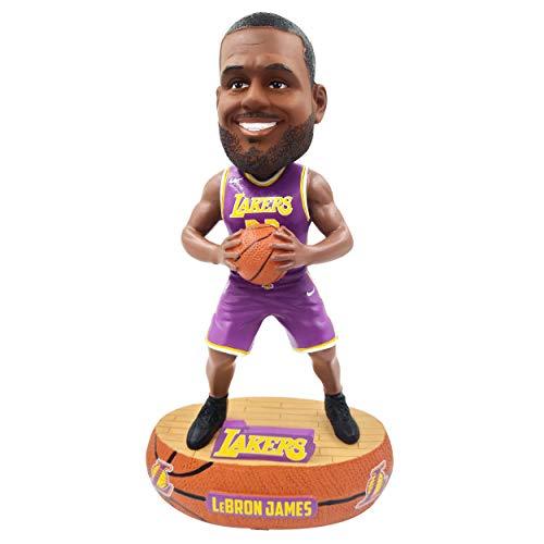 (Lebron James (Los Angeles Lakers) w/Purple Jersey 2018 NBA Baller Series Bobblehead by Foco)