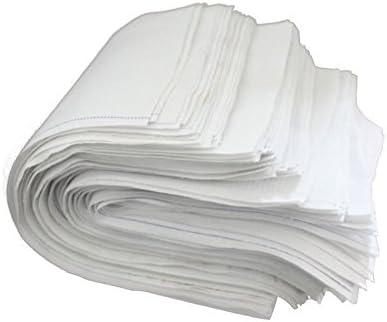 Paños de limpieza (2 kg) , 100% puro algodón blanco respetuoso con el medio ambiente DIN 61650: Amazon.es: Hogar