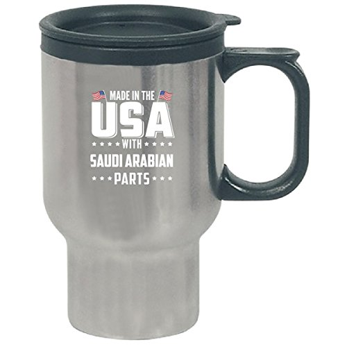 Made In The Usa With Saudi Arabian Parts - Travel Mug by Brands Banned