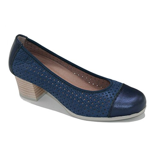 bleu bleu pour Escarpins PITILLOS femme pqOzpX