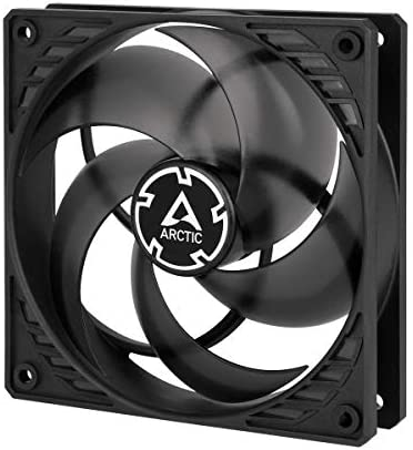 ARCTIC P12 PWM – 120 mm Ventilador de Caja para CPU con PWM Sharing Technology, Motor Trifásico Muy Silencioso, Computadora, 200-1800 RPM – Negro/Transparente: Amazon.es: Informática