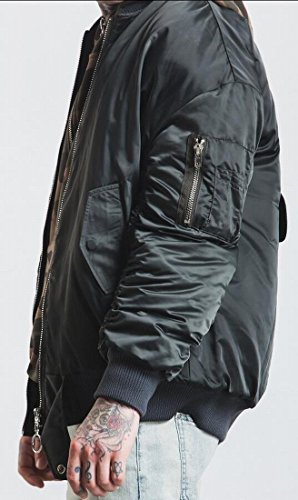 Gery A Bomber Jacket Air Flight M amp;W Leather amp;S 2 Force Men's Fashion Bw6Cpq