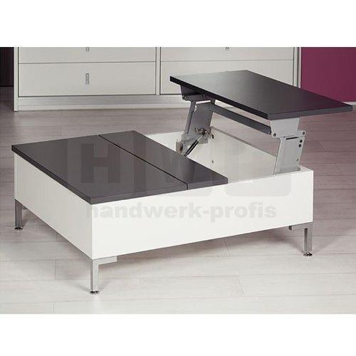 Handwerk Profis Hafele 643.12.200Tavoflex - Mecanismo abatible para mesa (profundidad instalacion 698mm)