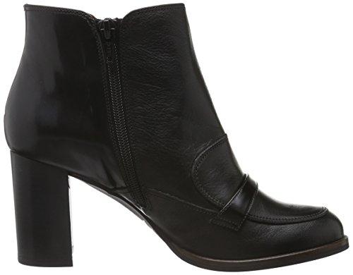 Hispanitas Brujas, Zapatillas de Estar por Casa para Mujer Negro - Schwarz (Soho-I6 Black Antique-I6 Black)