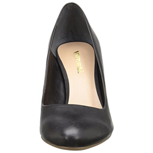 Ciglia Vodi Cp-062 Vocosi, Slip On Casual Dress Pompe A Punta Tonda Per Donna Nero (063-matte)