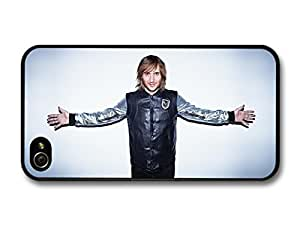 Accessories David Guetta French DJ Open Arms case For Apple Iphone 4/4S Case Cover