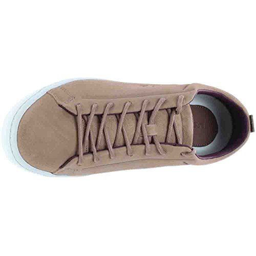 Lacoste Hombres Straightset Suede Sneakers Tan