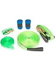 small foot Company 10476 Kindergarten Slackline Set inklusiv Baumschutz und Sicherheitsleine, bis 80 kg Spielzeug