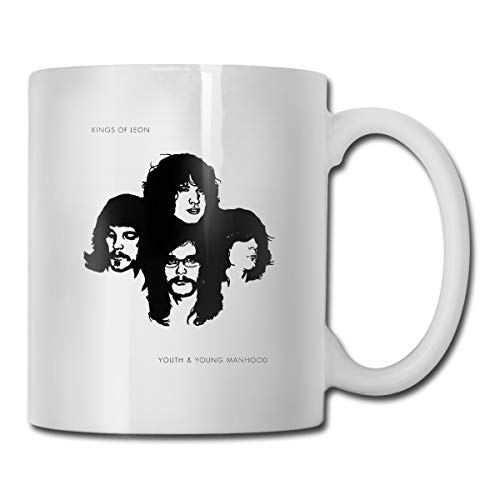 Atunme Kings Of Leon Youth & Young Manhood Black Coffee Cup