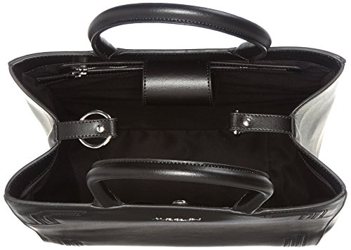 Marc Cain Jb T6.17 L79 - Borse a secchiello Donna, Schwarz (Black), 16x34x30 cm (B x H T)