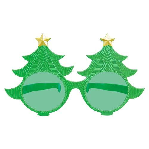 Giant Christmas Plastic Tree Eyelasses   Party Favor