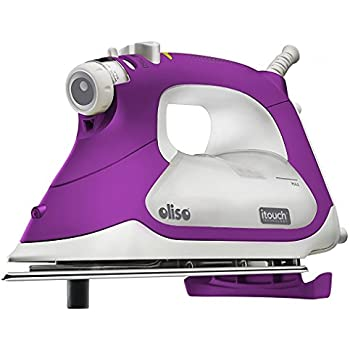 Oliso TG1100 Smart Iron with iTouch Technology, 1800 Watts, Purple