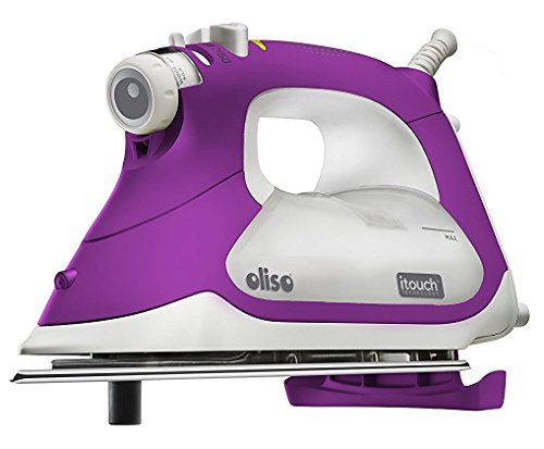 Oliso TG1100 Smart Iron with iTouch Technology, 1800 Watts, Purple by Oliso