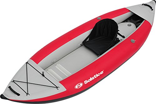 Solstice by Swimline Flare 1 Person Kayak, Red For Sale