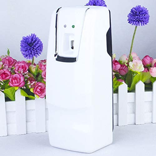 HDLWIS Air Freshener Dispenser, Automatic Parfüm Spray Maschine Automatische Aerosol Dispenser Wand montiert Hotel Toilette Aerosol Parfüm Dispenser Air