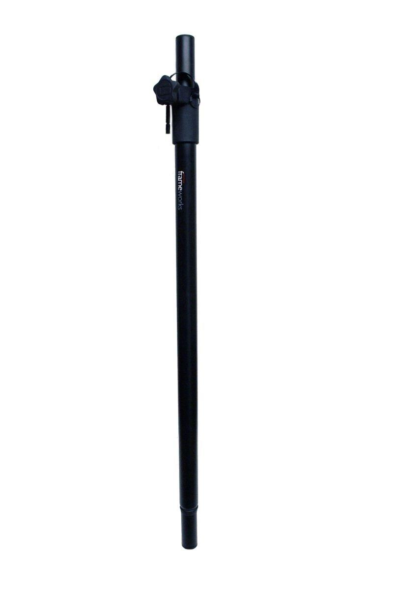 Gator Frameworks Standard Subwoofer Speaker Pole Mount with Adjustable Height (GFW-SPK-SUB60)