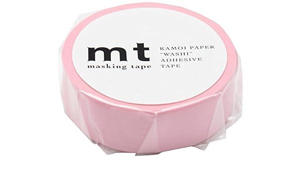 Washi Tape - Plain Rose Pink by MT Japan: Amazon.es: Bricolaje y herramientas