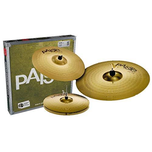 Paiste 101 Brass Universal Set 14 / 16 / 20 Cymbal Pack FREE 14