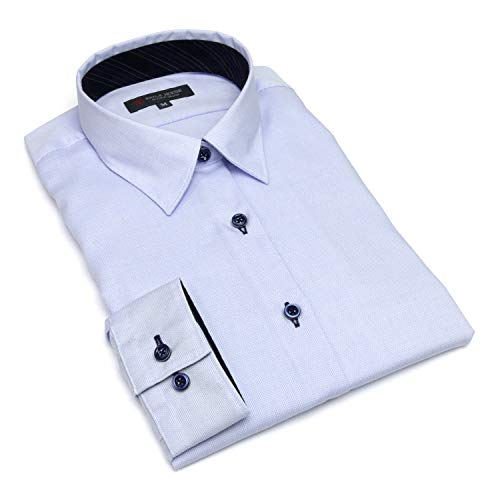 退院暴行儀式ブリックハウス シャツ ブラウス 長袖 形態安定 レギュラー衿 ピマ綿100% レディース ウィメンズ BL018502CP14R4X-10