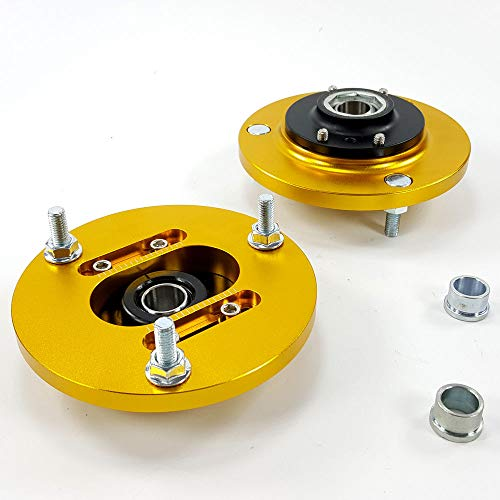 Camber Plates Adjustable - Camber Plates Mounts For BMW E46 Pillow Adjustable 318 325i 325is M3 For Coilover