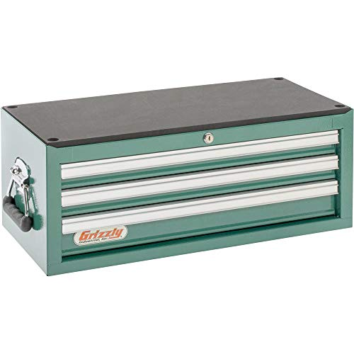 Grizzly Industrial H0837 – 3 Drawer Middle Chest w/ Ball Bearing Slides