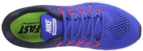 Nike Herren Lucht Zoom Pegasus 33 Laufschuhe Multicolore (racer Blauw / Wit-midnight Marine-blauwe Gloed)