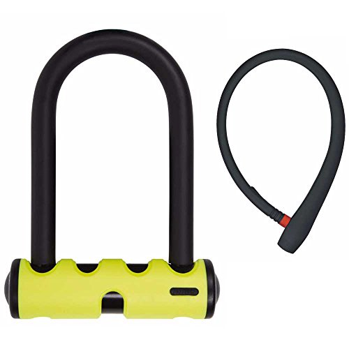 "ABUS Mini Round Shackle Bike U Lock, 5.5""/15mm and Lightweig"