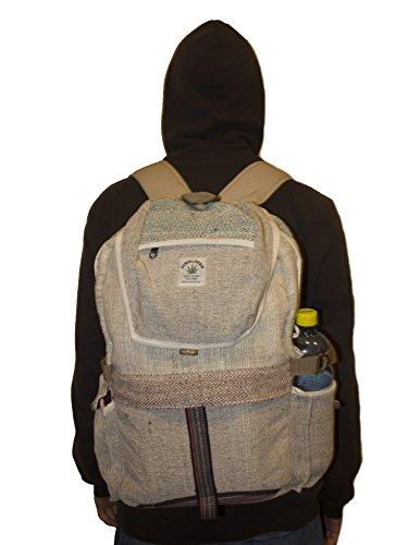HempireSun-Hemp-Backpack-Best-Eco-Friendly-Natural-Rucksack-For-women-men-and-kids-Handmade-Product-Nepal-with-Laptop-Sleeve