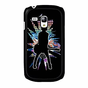 Elvis Case Hot Cool Elvis Presley Phone Case Protective Shell Cover for Samsung Galaxy S3 Mini The Hillbilly Cat Special Pattern