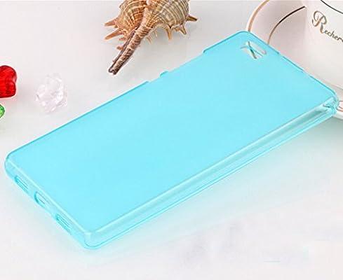 Prevoa® y#x4E28;Huawei P8 LITE 12,7 cm caso Silcione: Amazon.es ...