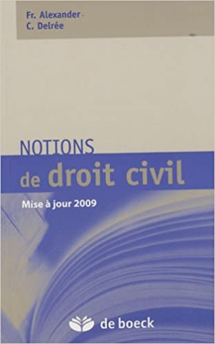 Livre Notions de droit civil pdf