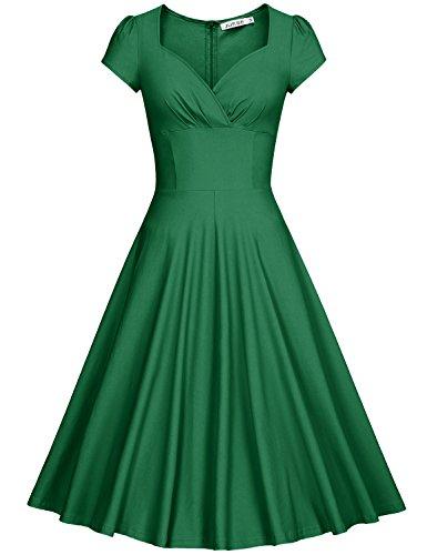 Vintage 50s 60s Green - 8