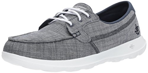 Skechers Performance Women's Go Walk Lite-15433 Boat Shoe,navy,9 M US (Best Deals On Skechers Shoes)