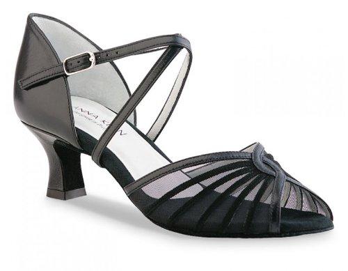 Anna Kern Women's Model 624 - 2'' (5.0 cm) Latin Heel, 9 M US (6 UK)