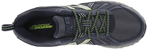 New Balance Men's MT410v5 Cushioning Trail Running Shoe, Navy/Yelow, 7.5 D US by New Balance (Image #8)
