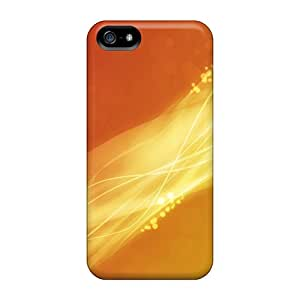 Faddish Phone Fire Flow Designs Case For Iphone 5/5s / Perfect Case Cover