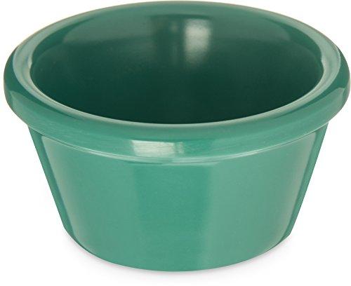 Carlisle 085209 Melamine Smooth Ramekin, 2 oz, Green (Pack of 72) by CARLISLE F S P