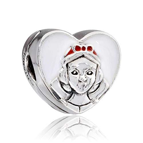 Pandora Disney Snow White Portrait Clip Charm 797165ENMX