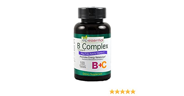 Amazon.com: B COMPLEX VITAMIN TABLETS 100S COMPLEJO B: Health & Personal Care